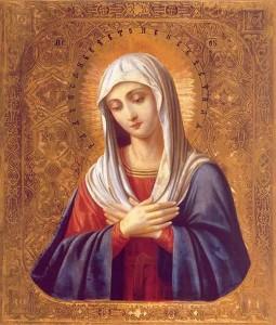 Приснодеве Марии