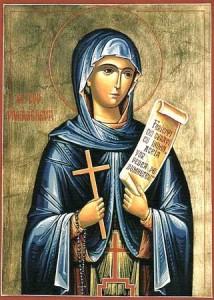 Святой мученице Параскеве, нареченной Пятница