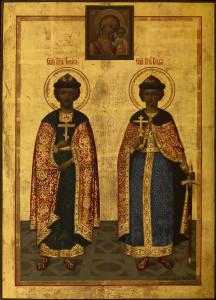 Святым благоверным князьям Борису и Глебу